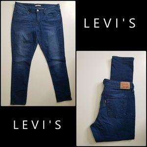 Levi's 711 Woman Denim Skinny Stretch Jeans Sz 33
